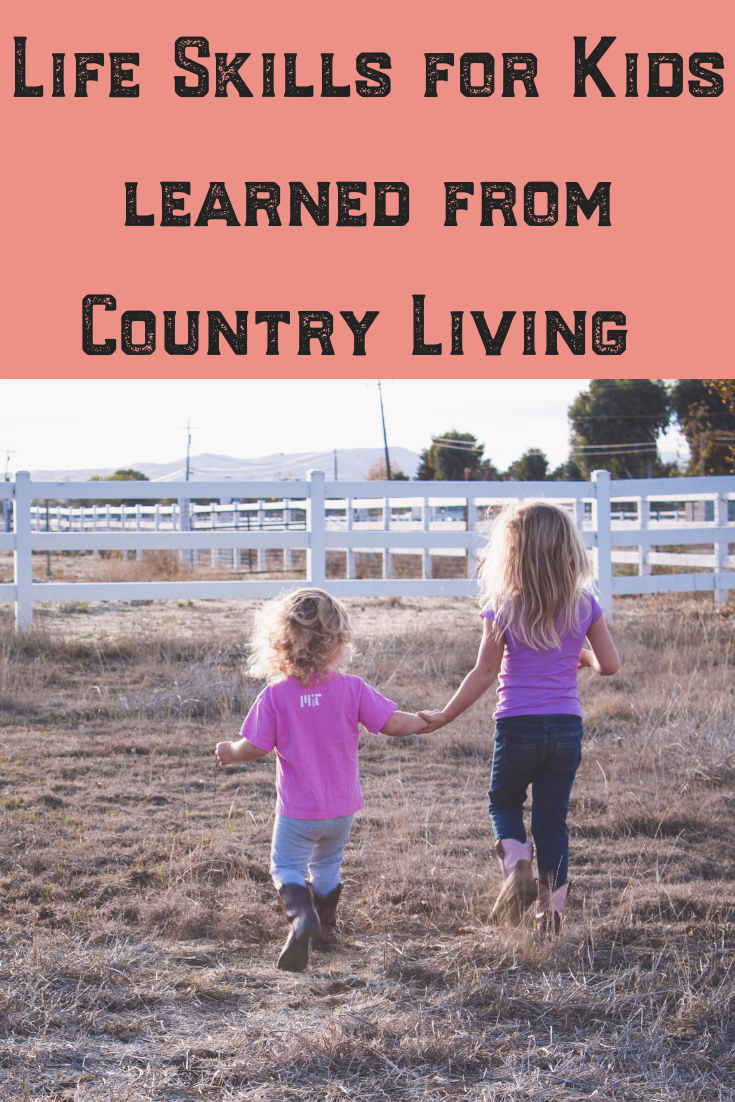 Country living and homesteading is a special way of life. For children, learning life skills on a farm is often fun and understood much younger than in urban environments. Ideas and tips such as survival skills, how to build and use tools and be independent are just some of the lessons learned. Read on to discover what raising country kids is really like, and the valuable activities each child should enjoy on a farm or not!#homesteading #lifeskills #survivalskills #leassons #ideas #tips #skills