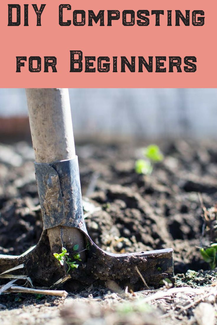 Looking for the best fertilizer for your garden?! Check out this how to DIY guide on composting for beginners! Watch your vegetable garden thrive! #diy #composting #compost #compostingforbeginners #garden #dirt #gardener